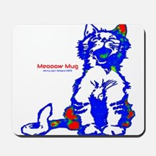 Funny Hellow Meoow Mousepad