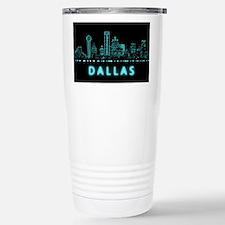 Digital Cityscape: Dall Travel Mug