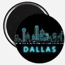 Digital Cityscape: Dallas, Texas Magnet