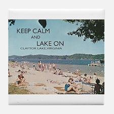 Claytor Lake Tile Coaster