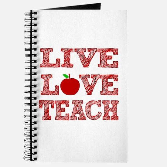 Live, Love, Teach Journal