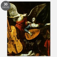 Saint Cecilia and the Angel by Saraceni Puzzle