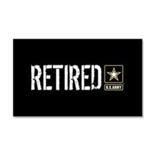 U.S. Army Retired Car Magnet 20 x 12