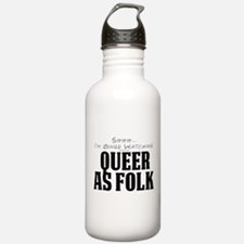 Shhh... I'm Binge Watching Queer as Folk Water Bottle