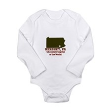 Phillies Long Sleeve Infant Bodysuit