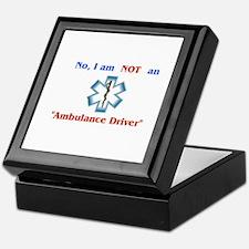 """""""Not an Ambulance Driver"""" Keepsake Box"""