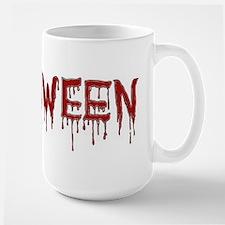 bloody halloween Mugs