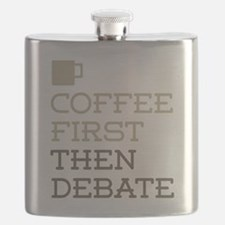Coffee Then Debate Flask