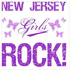 New Jersey Girls Rock Poster