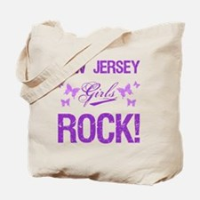 New Jersey Girls Rock Tote Bag