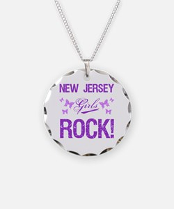 New Jersey Girls Rock Necklace