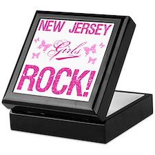 New Jersey Girls Rock Keepsake Box
