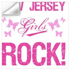 New Jersey Girls Rock Wall Decal