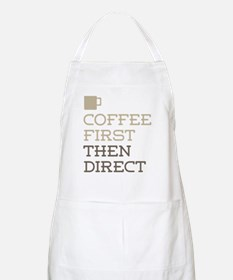 Coffee Then Direct Apron