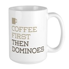 Coffee Then Dominoes Mugs