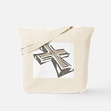 Vintage Cross Tote Bag