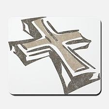Vintage Cross Mousepad