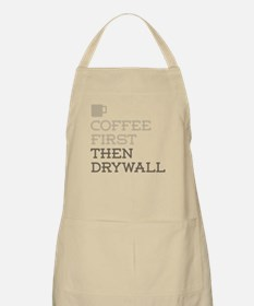 Coffee Then Drywall Apron