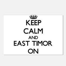 Keep calm and East Timor Postcards (Package of 8)