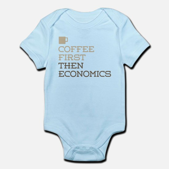 Coffee Then Economics Body Suit