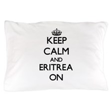 Keep calm and Eritrea ON Pillow Case