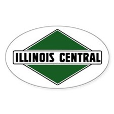 Illinois Central Oval Decal