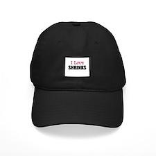 I Love SHRINKS Baseball Hat