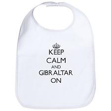 Keep calm and Gibraltar ON Bib