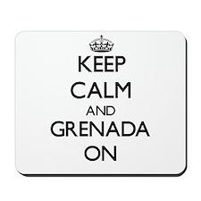 Keep calm and Grenada ON Mousepad