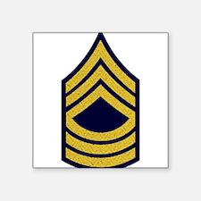 "Unique Master sergeant Square Sticker 3"" x 3"""
