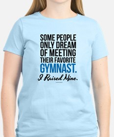 I Raised a Gymnast T-Shirt