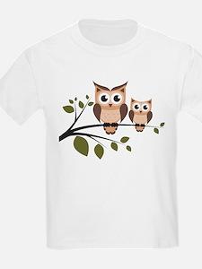 Cute Cartoon owl T-Shirt