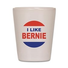 i like bernie 2016 lrg Shot Glass