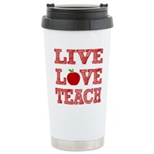 Live, Love, Teach Travel Coffee Mug