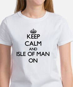 Keep calm and Isle Of Man ON T-Shirt