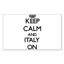Keep calm and Italy ON Decal