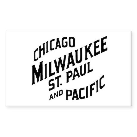 Milwaukee Road 1 Rectangle Sticker
