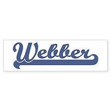 Webber (sport-blue) Bumper Car Sticker