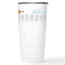 Cute Ukelele Travel Mug