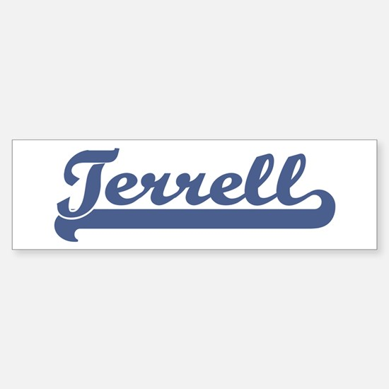 Terrell (sport-blue) Bumper Bumper Bumper Sticker