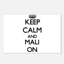 Keep calm and Mali ON Postcards (Package of 8)