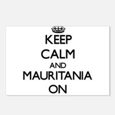 Keep calm and Mauritania Postcards (Package of 8)
