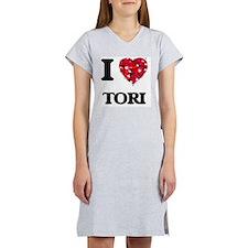 I Love Tori Women's Nightshirt