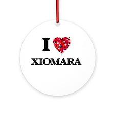 I Love Xiomara Ornament (Round)