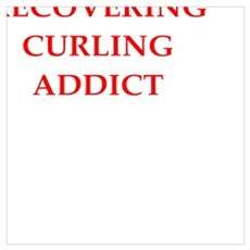 curling joke Poster