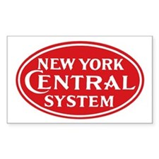 New York Central 1 Rectangle Decal