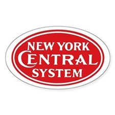 New York Central 1 Oval Decal