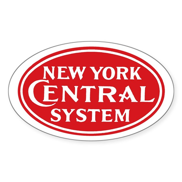 New york central 1 oval decal by railgraphix - Stickers geant new york ...