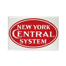 New York Central 1 Rectangle Magnet