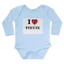 I Love Yvette Body Suit